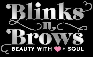 Blinks-n-Brows-Logo-Grey-metallic-on-Transparent
