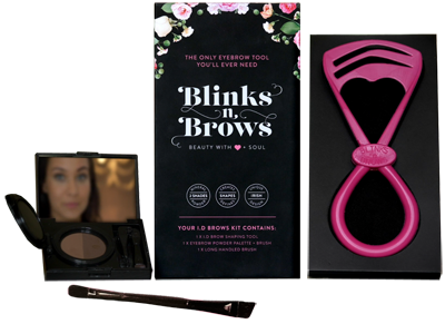 Blinks n Brows ID Brows Kit Product Image small